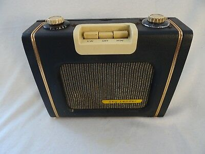 Vintage Ever Ready Sky Leader L/MW Transistor Battery Radio - for Repair. 101018