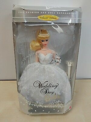 Wedding Day Barbie Collector Edition 1960 Fashion & Doll Reproduction 1996 New