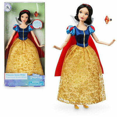 NEW Official Disney 30cm Snow White Classic Doll with Ring
