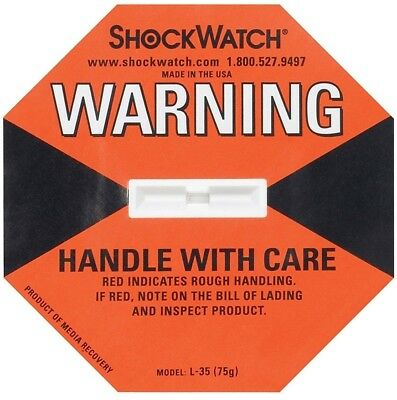 shockwatch devices with Labels