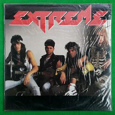 Extreme - Extreme (1st album) '89 korea vinyl lp 10 trax Sealed