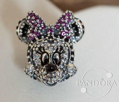 Authentic Pandora Silver Disney Minnie Limited Edition Charm Bead 791796NCK