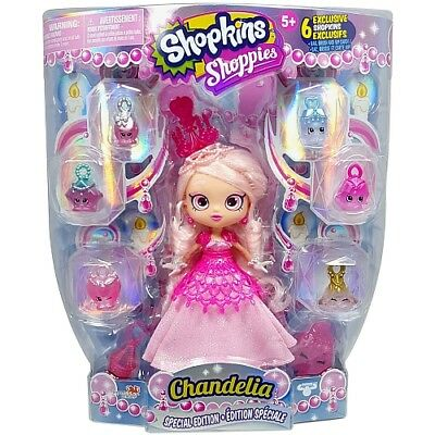 Shopkins Shoppies Special Edition Chandelia Doll- RARE -Brand New (TOY-00022)