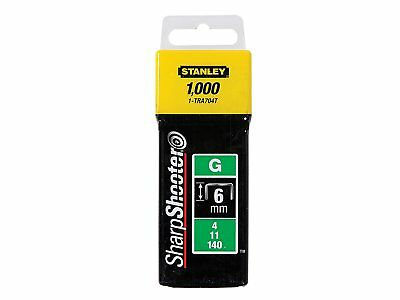 Stanley Staples (6MM / 10MM / 12MM / 14MM) 1000- Free post