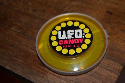 Vintage UFO Candy Container