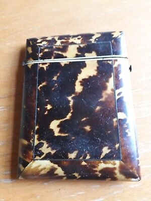 Antique Shell Card Case