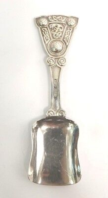 Iona Caddy Spoon Sterling Scottish Silver Arts & Crafts Alexander Ritchie 1922