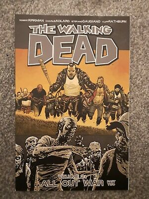 The Walking Dead vol volume 21 graphic novel - All Out War Part Two / 2