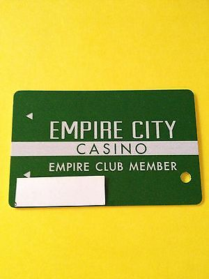 Empire City Casino 1st Tier Level Players Card Yonkers, NY.