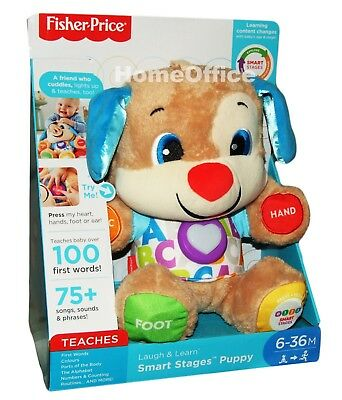 Fisher-Price Laugh & Learn Smart Stages Puppy Educational Teddy Toy