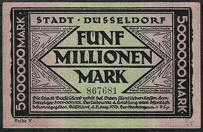Düsseldorf Stadt, 29: 5.000.000 (5 Million) Mark 1923