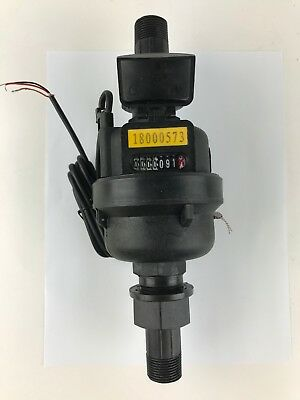 "DAE PVM-75P Positive Displacement Water Meter,Pulse out, 3/4"" Couplings,Gallon"
