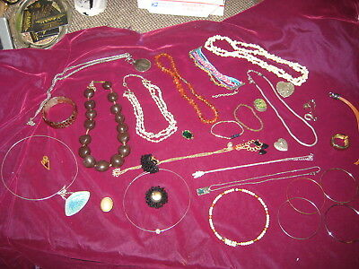 Costume, Vintage,Antique Jewelry Lot, 30 PIECES!  Our REF 1884-4