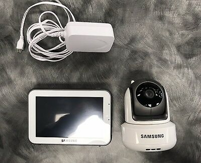 SAMSUNG SEW-3043W BRIGHTVIEW  BABY MONITOR With Camera SEP1003RWN