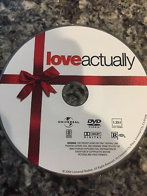 Love Actually (Full Screen Edition). Dvd Movie Disc Only
