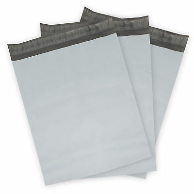 6x9 POLY MAILERS - 100 COUNT -- White Mailing Bags - 2.5 mil - SELF SEALING NEW