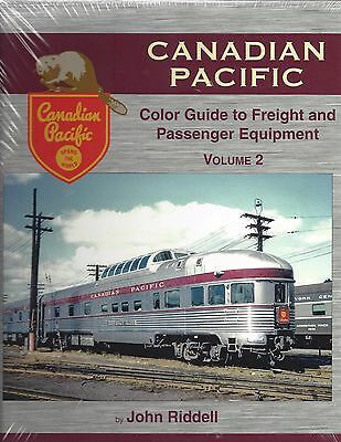 CANADIAN PACIFIC Color Guide to Freight and Passenger Equipment, Vol. 2 NEW BOOK