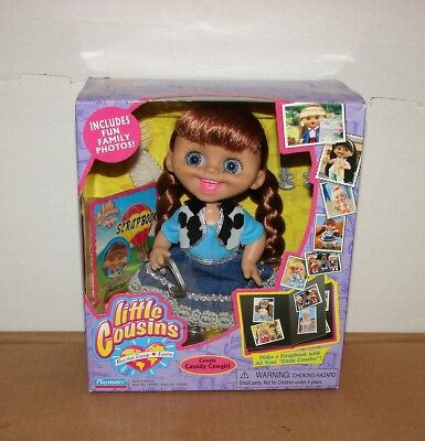 """New 2002 Playmates Little Cousins Doll """"Cousin Cassidy Cowgirl"""""""