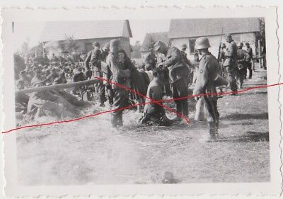 Old Poland Photo Original WWII Polish GOP in camp. Polscy jeńcy wojenni w obozie