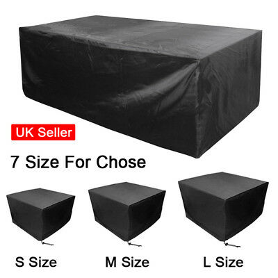 Waterproof Cuboid / Cube Garden Outdoor Patio Furniture Rain Covers Quality SUN