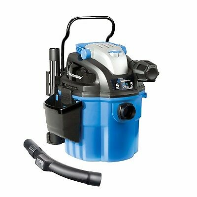 Vacmaster 5 Gallon 5 Peak HP with 2Stage Motor Wet/Dry Vacuum Wall Mountable New