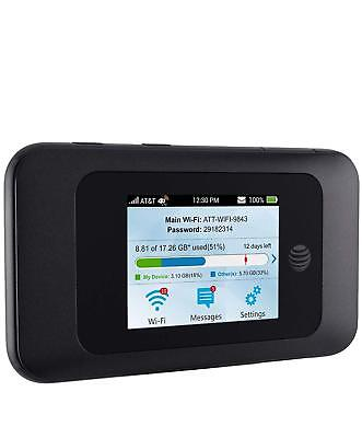 ZTE Velocity 2 (2nd Gen) 4G LTE Mobile WiFi Hotspot AT&T ONLY - Black