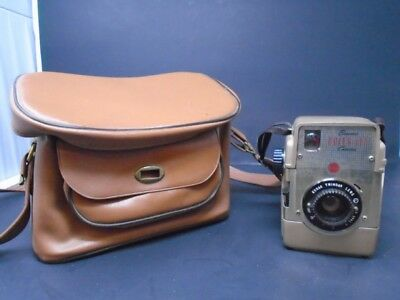 Vintage Kodak Brownie Bull's Eye Camera With Case