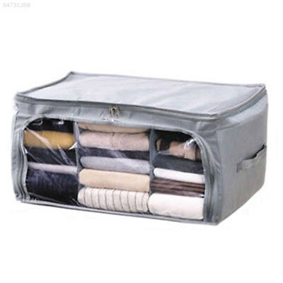 3556 High Quality Foldable Bamboo Charcoal Storage Box For Quilt Cloths  Organiz