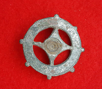 P83:  AUTHENTIC  ANCIENT ROMAN   FIBULA -BROOCH   2-4c. AD