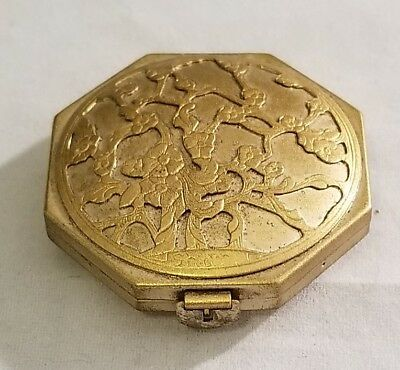 Langlois New York Antique Compact - Beautiful