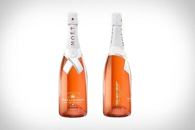 "Moet & Chandon x Off-White ""Do Not Drop"" Virgil Abloh Limited Edition In Hand"
