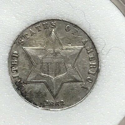1862 3 Cent Silver