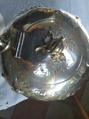 Lovely Antique Victorian Silver Plated Teapot