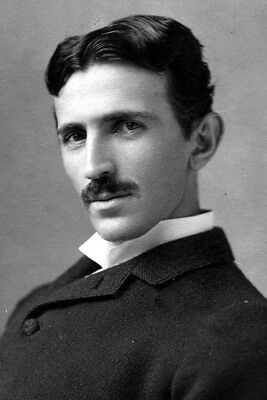 New 4x6 Photo: Electrical Engineering Pioneer and Visionary Nikola Tesla