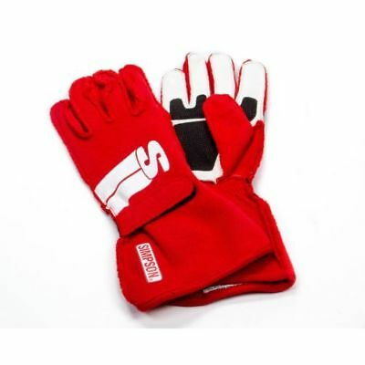 Simpson IMXR Impulse Series Racing Driving Gloves X-Large Red SFI 3.3/5 Rated