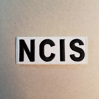 NCIS Abby White Lab Coat Patch 4 inch
