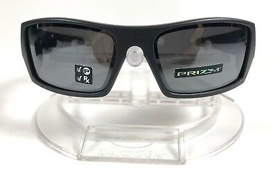 fcf152066fcac New Oakley Gascan Sunglasses Steel w  Prizm Black Polarized Lenses  OO9014-3560