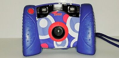Fisher Price 2007 Kid Tough Blue Digital Camera With Flash