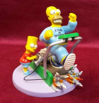 """Simpsons Sculpture At home with Homer Collection """"Stud In Training"""" Bart 2005"""