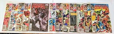 MARVEL super heroes secret wars  12 ISSUE CGC mint white pages LIMITED SERIES