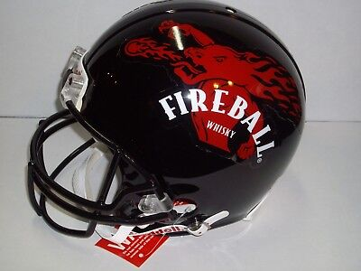 Fireball Whisky RIDDELL Full Size L Large Football Helmet HALLOWEEN Costume Prop