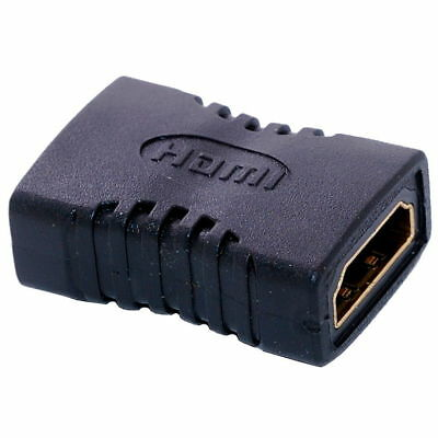 New HDMI Female to Female F F Coupler Extender Adapter Connector for HDTV US HD