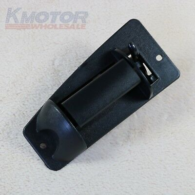 Left Driver Side Rear Door Handle For Chevy 99-06 Silverado Sierra Extended Cab