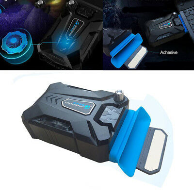 KD_ Notebook Laptop Portable Vacuum Air Extracting USB Cooling Pad Cooler Fan