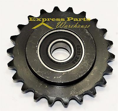 """Heavy Duty Roller Chain Sprocket Idler 22 Tooth #35 Chain 1/2"""" Bore. Usa!!"""