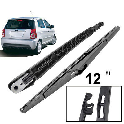 Rear Window Windscreen Wiper Arm Set For Kia Morning Picanto SA MK1 2004-2010