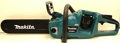New Makita 2 x 18V Brushless Cordless Chainsaw DUC353 - Skin Only Bids From $1