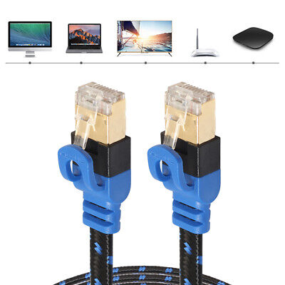 Ethernet Cable RJ45 Cat7 Cat6 LAN Cable UTP Network Cable for PC Router TV Box