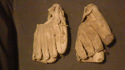 Lot of two vintage baseball gloves