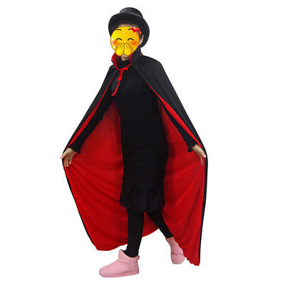 Halloween Cape Cloak witches Vampire Magician Costume Accessories Props Party